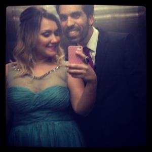 Com o marido